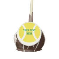 Tennis ball cake pops custom Birthday party treats