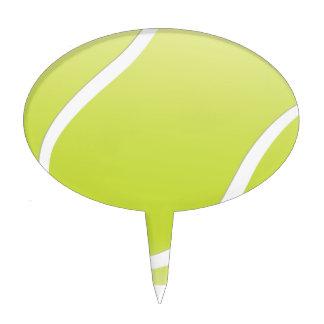 tennis ball cake topper