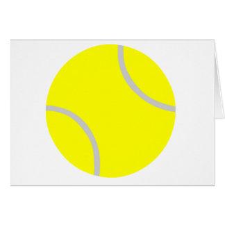 Tennis Ball Card