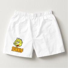 Tennis Ball Cartoon Mens Undergarment Boxers