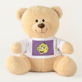 Tennis Ball Cartoon Teddy Bear