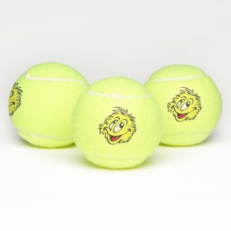 Tennis Ball Cartoon Tennis Balls