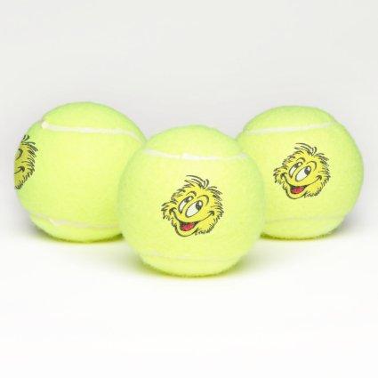 Tennis Ball Cartoon Tennis Balls