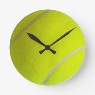 Tennis Ball Round Clocks