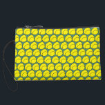 "Tennis Ball Clutch<br><div class=""desc"">Super cute tennis ball clutch!  Show your love for the game while out and about,  or use to hold accessories in your tennis bag.  Design by Tennisessities.</div>"