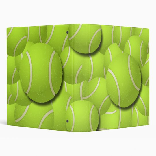 TENNIS BALL COLLAGE BINDER