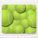TENNIS BALL COLLAGE MOUSE PAD