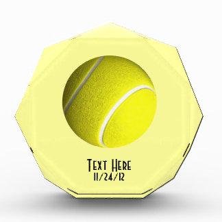 Tennis Ball Crystal Trophy Acrylic Award