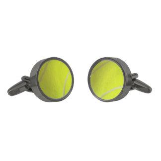 Tennis Ball Cuff Links