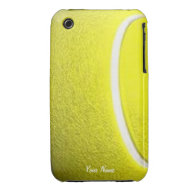 Tennis Ball Custom Cell iPhone 3 Covers