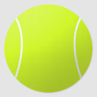 Tennis Ball Custom Gifts and Accessories Classic Round Sticker