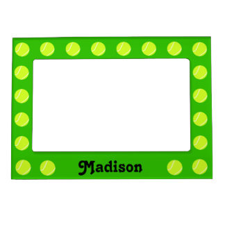 Tennis Ball Custom Magnetic Picture Frame
