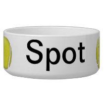 Tennis Ball Customized Pet Bowls