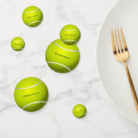 Tennis Ball Design Table Confetti