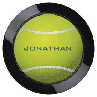 Tennis Ball Design USB Charging Station
