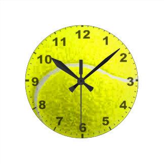 """Tennis Ball"" design wall clocks"