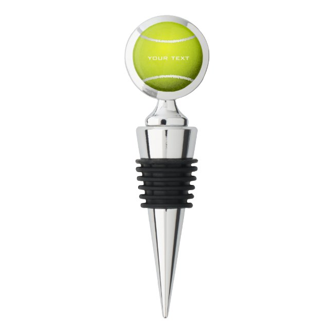 Tennis Ball Design Wine Stopper