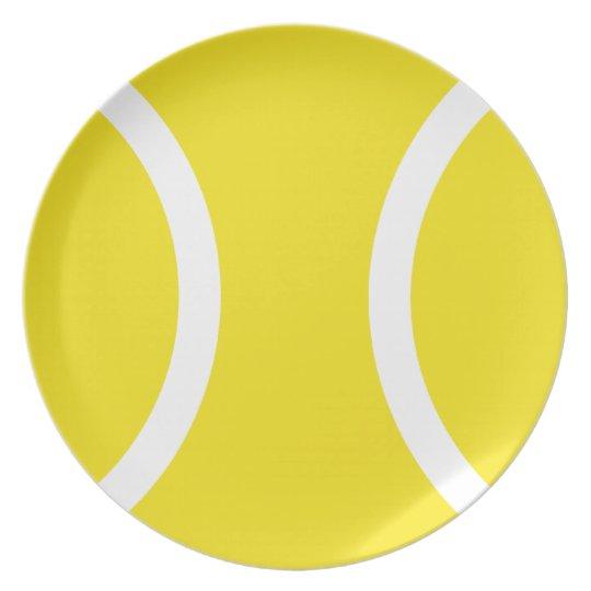 Tennis ball diner plate