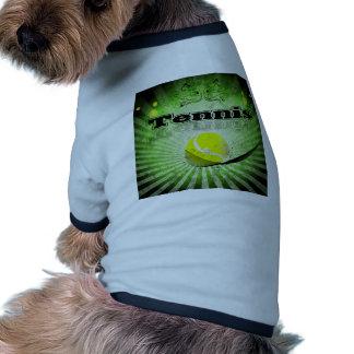 Tennis ball doggie tshirt