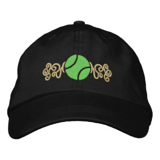 Tennis Ball Embroidered Hats
