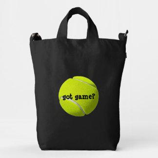 Tennis Ball Got Game Customizable BAGGU Duck Bag
