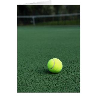 Tennis Ball Greeting Card