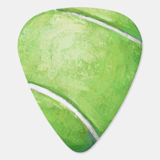 Tennis Ball Guitar Pick