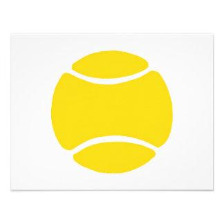 Tennis Ball Invitation