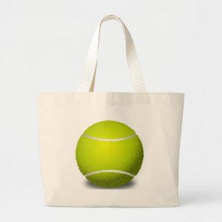 Tennis Ball Large Tote Bag
