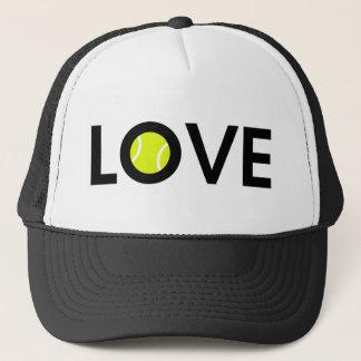 Tennis Ball LOVE Trucker Hat