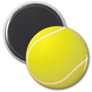 Tennis ball refrigerator magnet