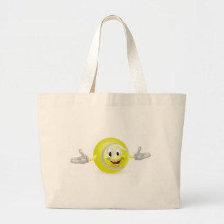 Tennis Ball Man Canvas Bags