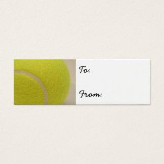 Tennis Ball Mini Business Card