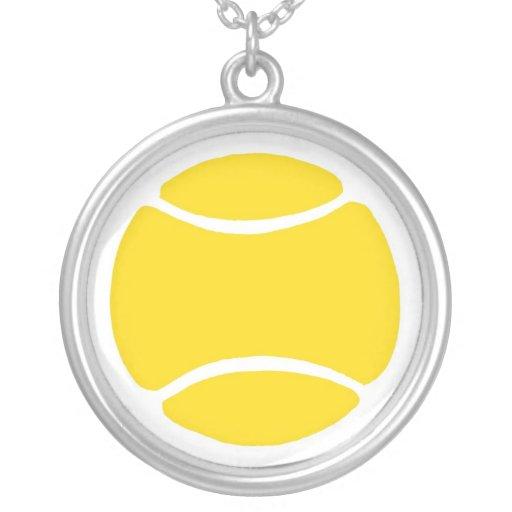 Tennis Ball Necklaces
