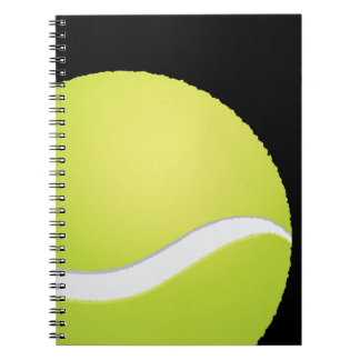 Tennis Ball Notebook