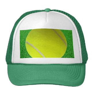 Tennis Ball On Lawn Trucker Hat