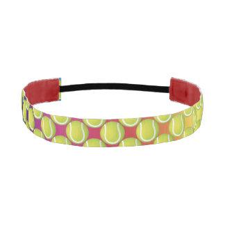 Tennis Ball Pattern Athletic Headband
