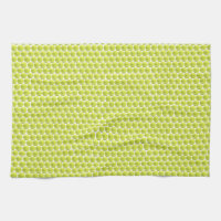 Tennis Ball Pattern Kitchen Towel