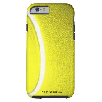 Tennis Ball Personal iPhone 6 case