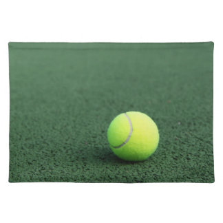 Tennis Ball Place Mats