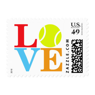 Tennis Ball Postage Stamps