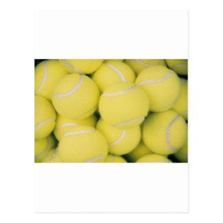 Tennis Ball Postcard