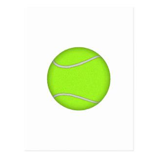 Tennis Ball: Postcard