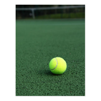 Tennis Ball Postcard