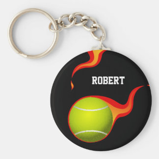 tennis ball products keychain