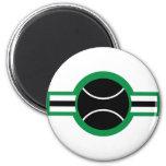 tennis ball refrigerator magnets