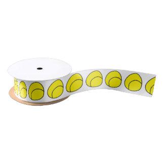 Tennis Ball Ribbon Satin Ribbon