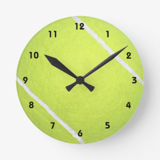 Tennis Ball Round Clock