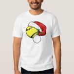 Tennis Ball Santa Cap Shirt