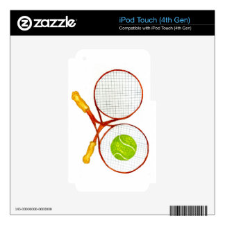 Tennis Ball Sketch2 iPod Touch 4G Skin